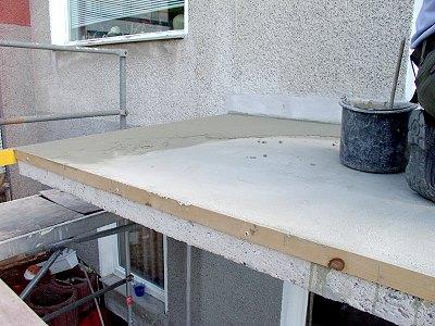 Balkon Terrasse Sanieren Beton Sanierung Abdichtung Gestaltung